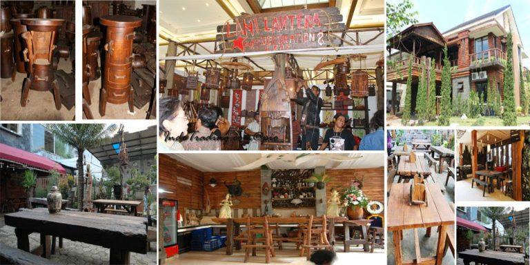 Lani Lantera, Produksi Furnitur Antik dari Limbah Kayu