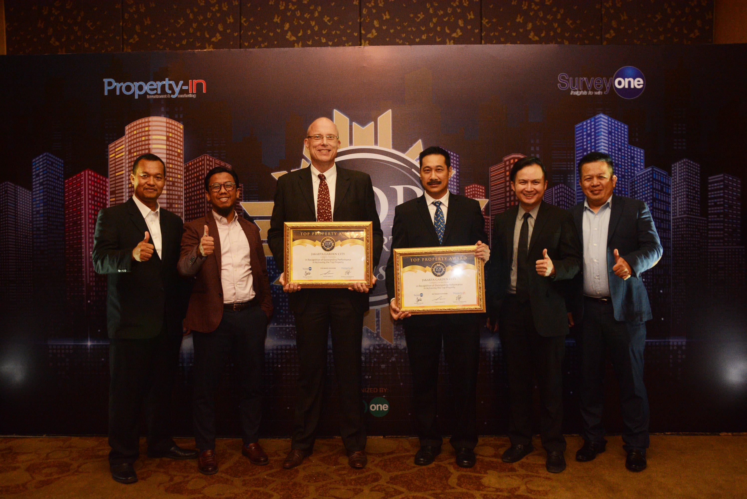 Jakarta Garden City Raih Penghargaan Top Property Award 2018