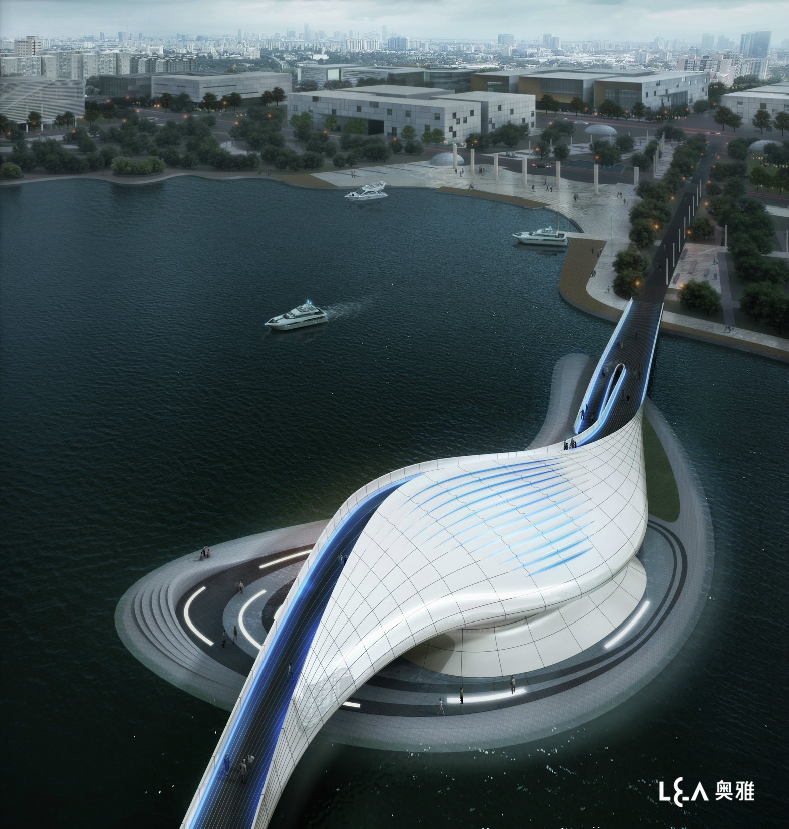 10 Desain Jembatan Neofuturistik di Dunia