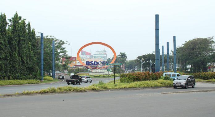 bsd city oleh bumi serpong damai dan marketing sales bsde