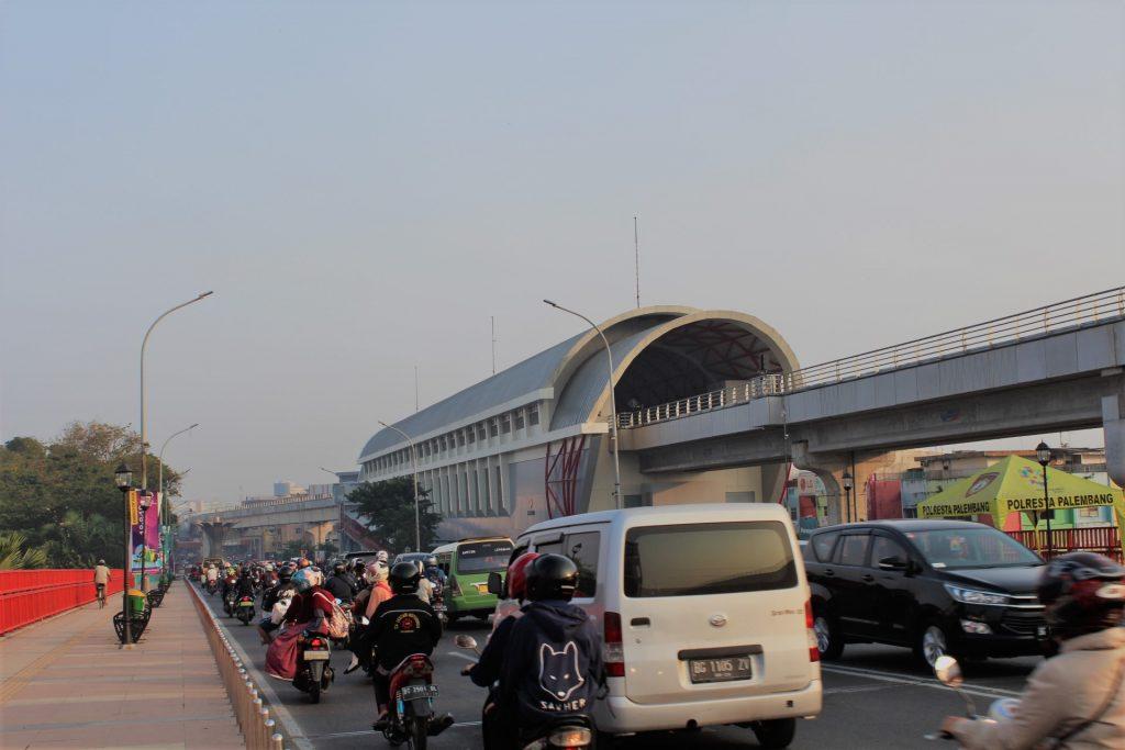 Stasiun LRT Ampera Palembang