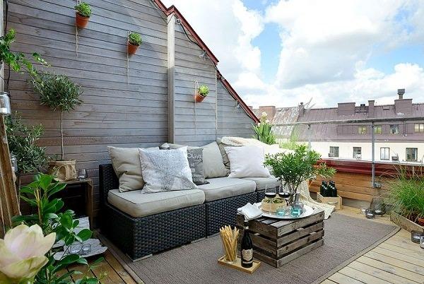 ide desain taman rooftop