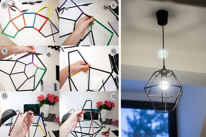 Membuat Kap Lampu dengan Cara Sederhana