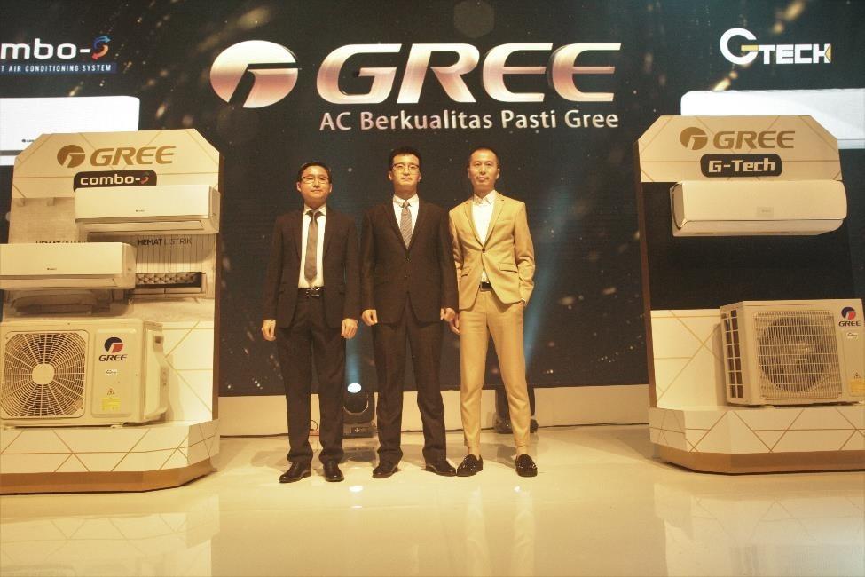 peluncuran produk baru ac gree