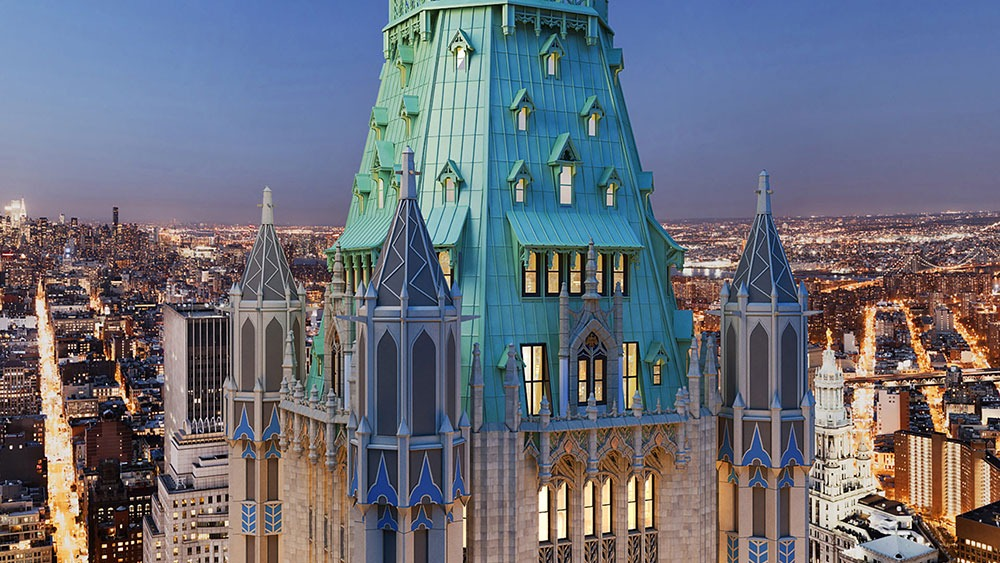 The Pinnacle in NYC's Woolworth building
