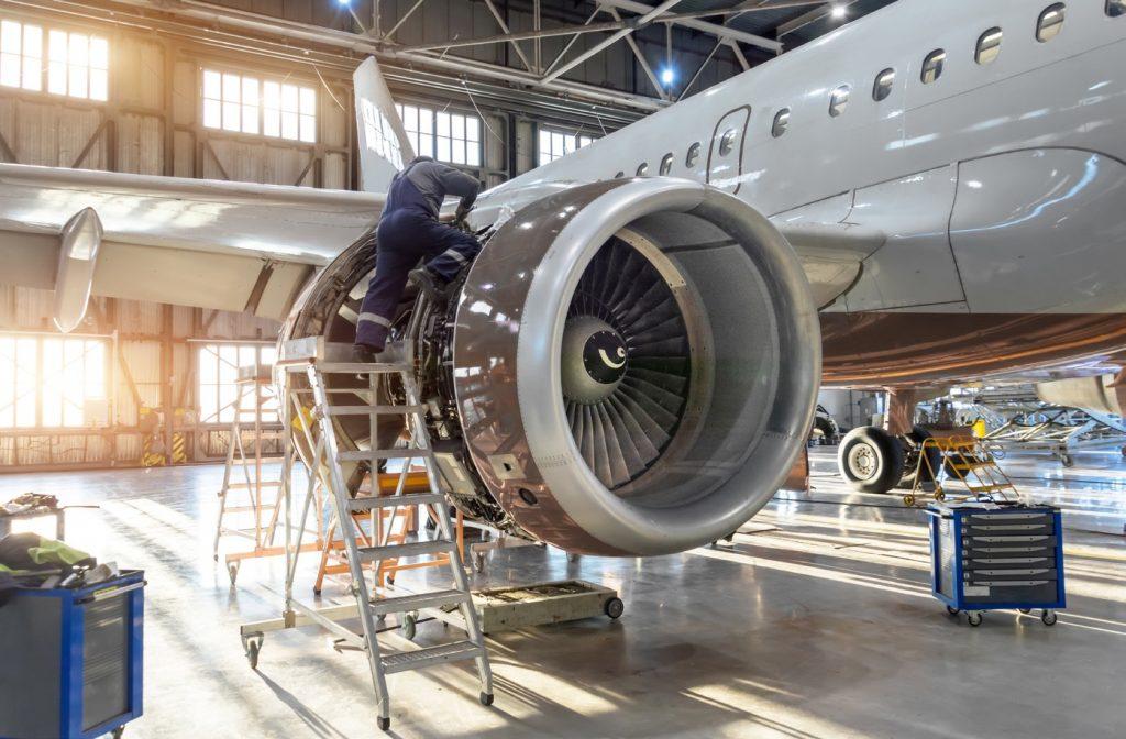 Maintenance Repair Overhaul di Aviarna Industrial Estate