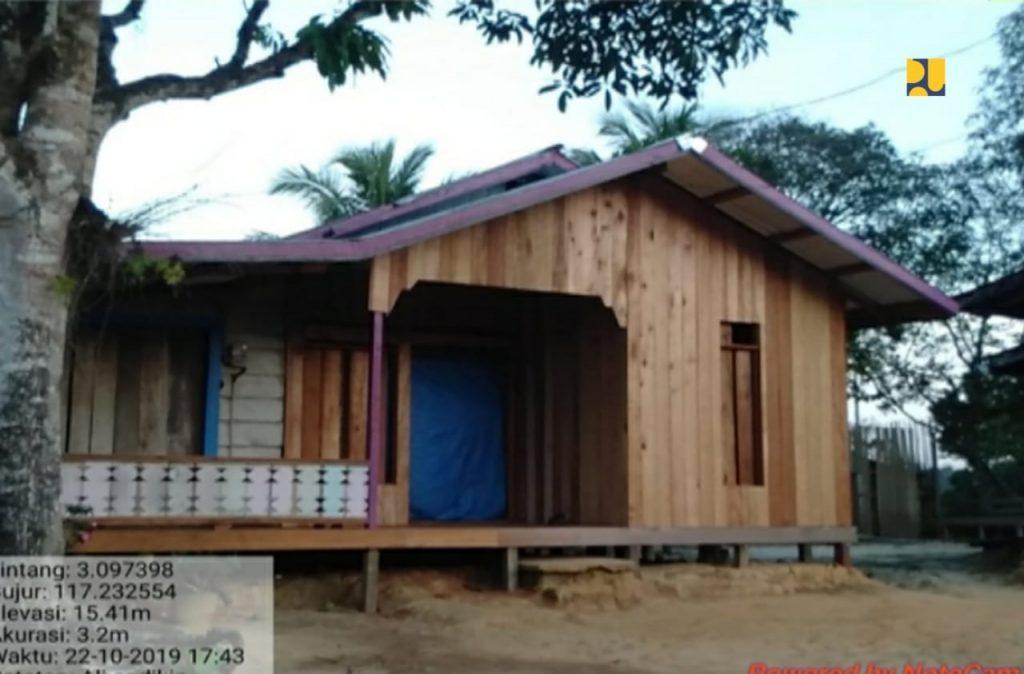 Bedah rumah di Kalimantan Utara