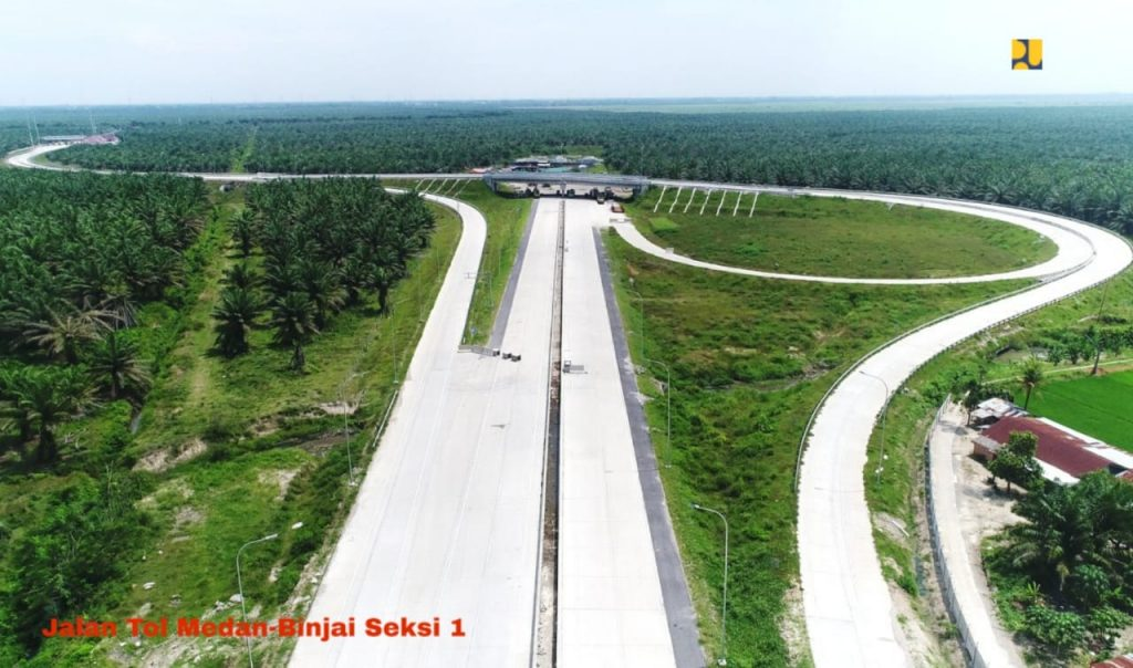 Jalan Tol Medan-Binjai Seksi 1