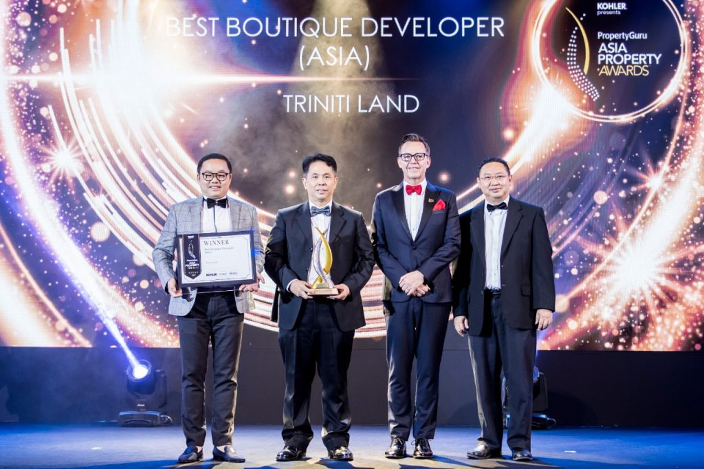 triniti land di PropertyGuru Asia Property Awards Grand Final 2019