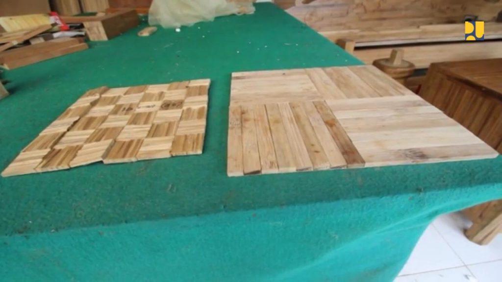material dasar dari bambu