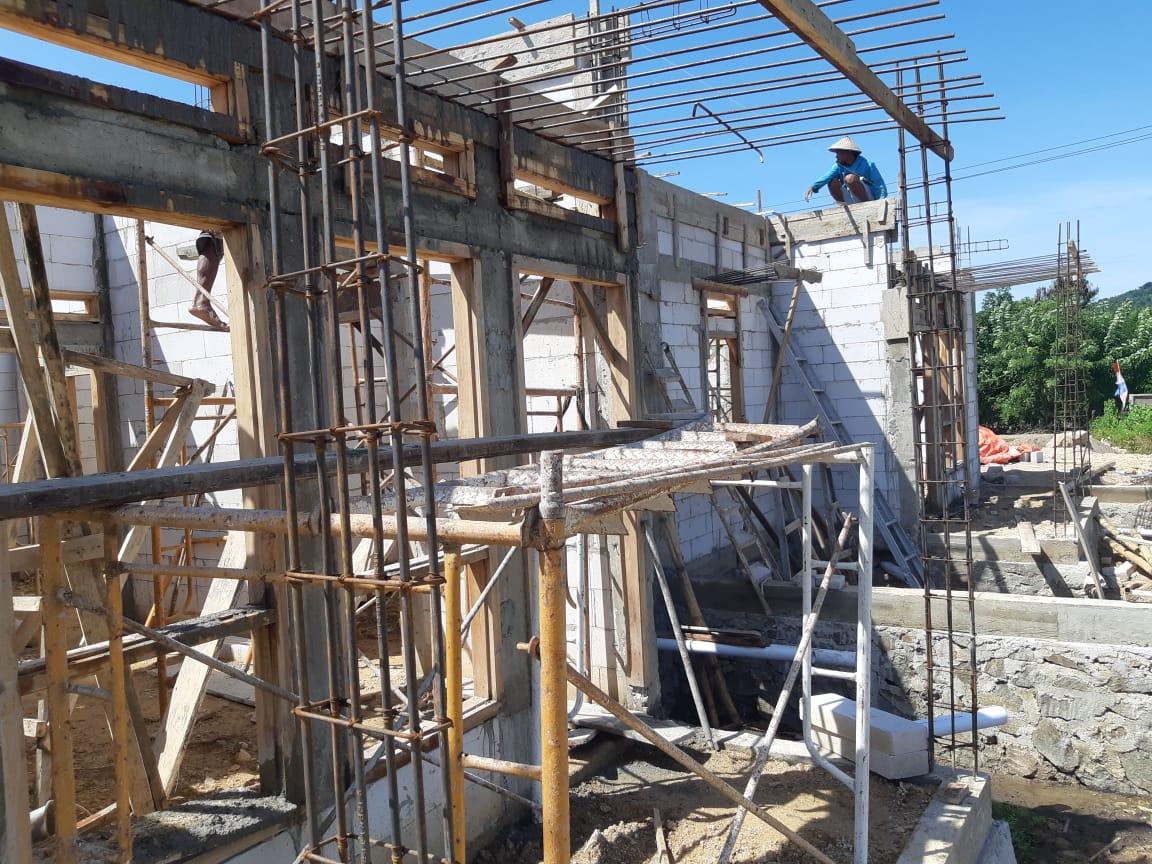 rumah contoh di cluster premium Harapan Indah Residence, Labuan Bajo