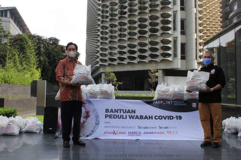 FARPOINT Salurkan Paket Sembako Kepada Warga Terdampak Corona