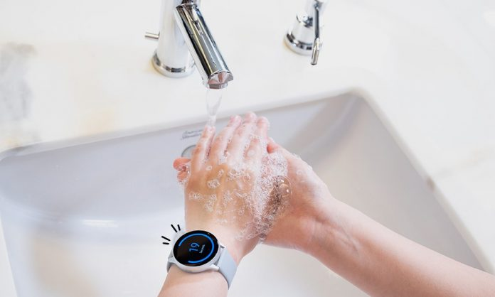 Aplikasi Hand Wash Samsung