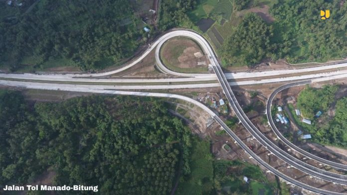 dua ruas jalan tol beroperasi