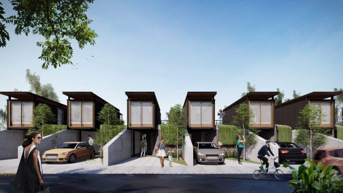 rumah berkonsep modular