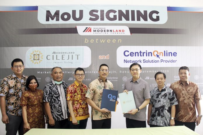 Modernland Cilejit menuju smart city