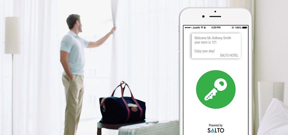 SALTO JustIN Mobile App