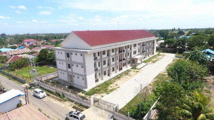 rumah susun untuk PON XX Tahun 2021 di Papua