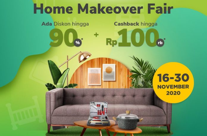 Homedec Online Fair X Tokopedia Home Living Salebration