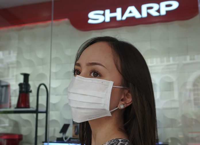 Masker Kesehatan MA-950I dari Sharp