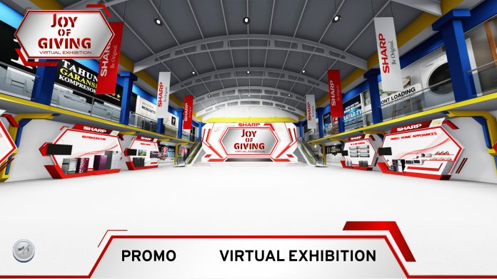 Sharp Tebar Diskon Melalui Virtual Exhibition
