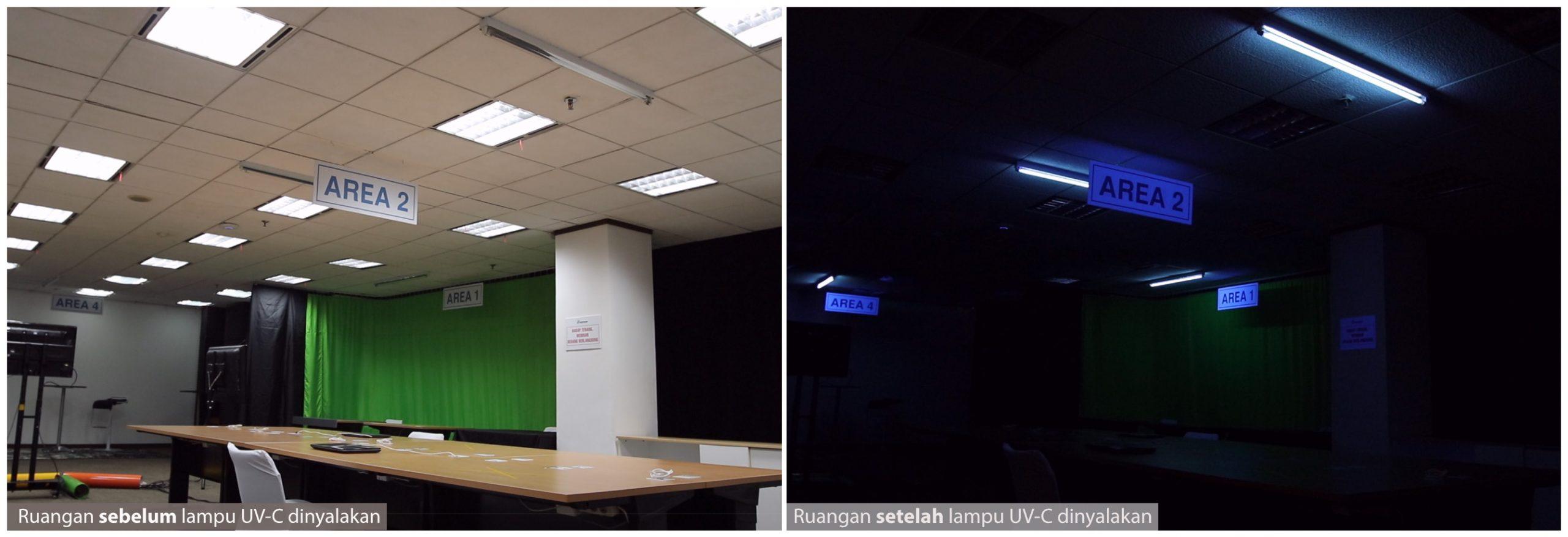 Penerapan lampu UC-V di Ruang Kerja Kantor_3