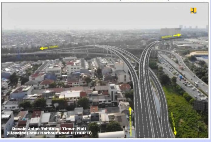 Desain Jalan Tol Ancol Timur – Pluit (Elevated) atau Harbour Road II