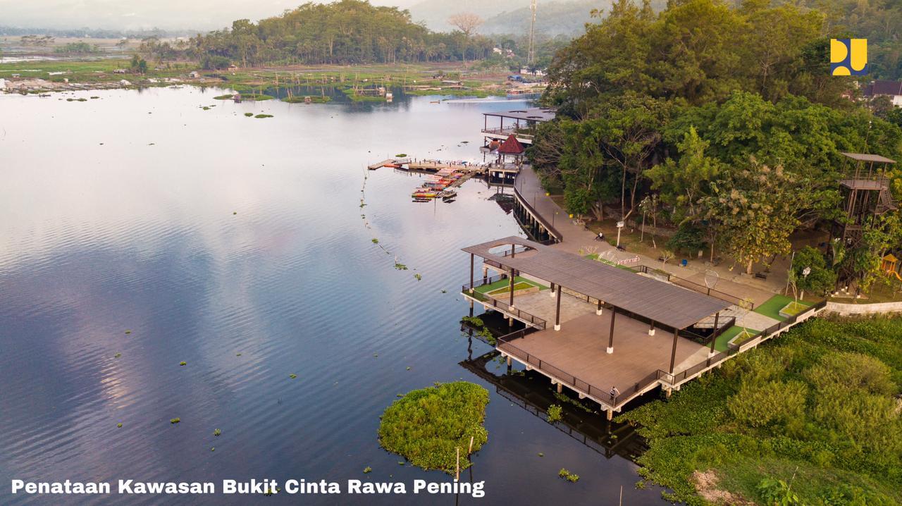 Kawasan Wisata Bukit Cinta Rawa Pening di Jawa Tengah
