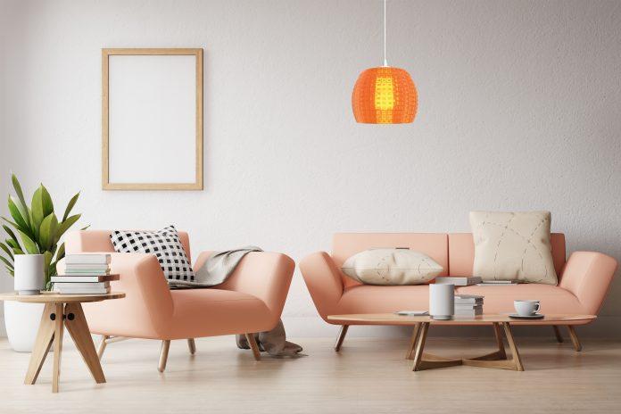 Luminer cetak 3D pada lampu di ruang keluarga