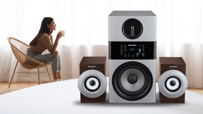 Sharp Active speaker