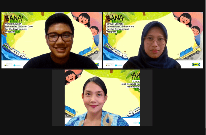 Indonesian Children Care for the Environment
