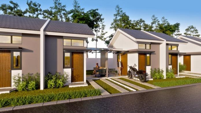 Rumah tipe Studio Landed Home dalam kawasan skala kota Modernland Cilejit di Tangerang