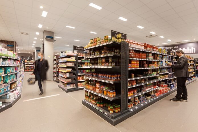 Luminer Dinding Philips UV-C Disinfection Upper Air Wall di Edeka Clausen