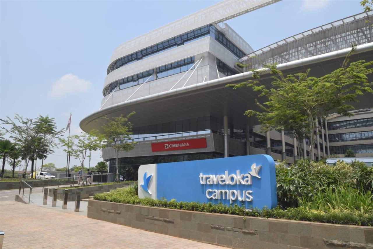 Traveloka Campus, Kantor Pusat Traveloka di BSD Green ...