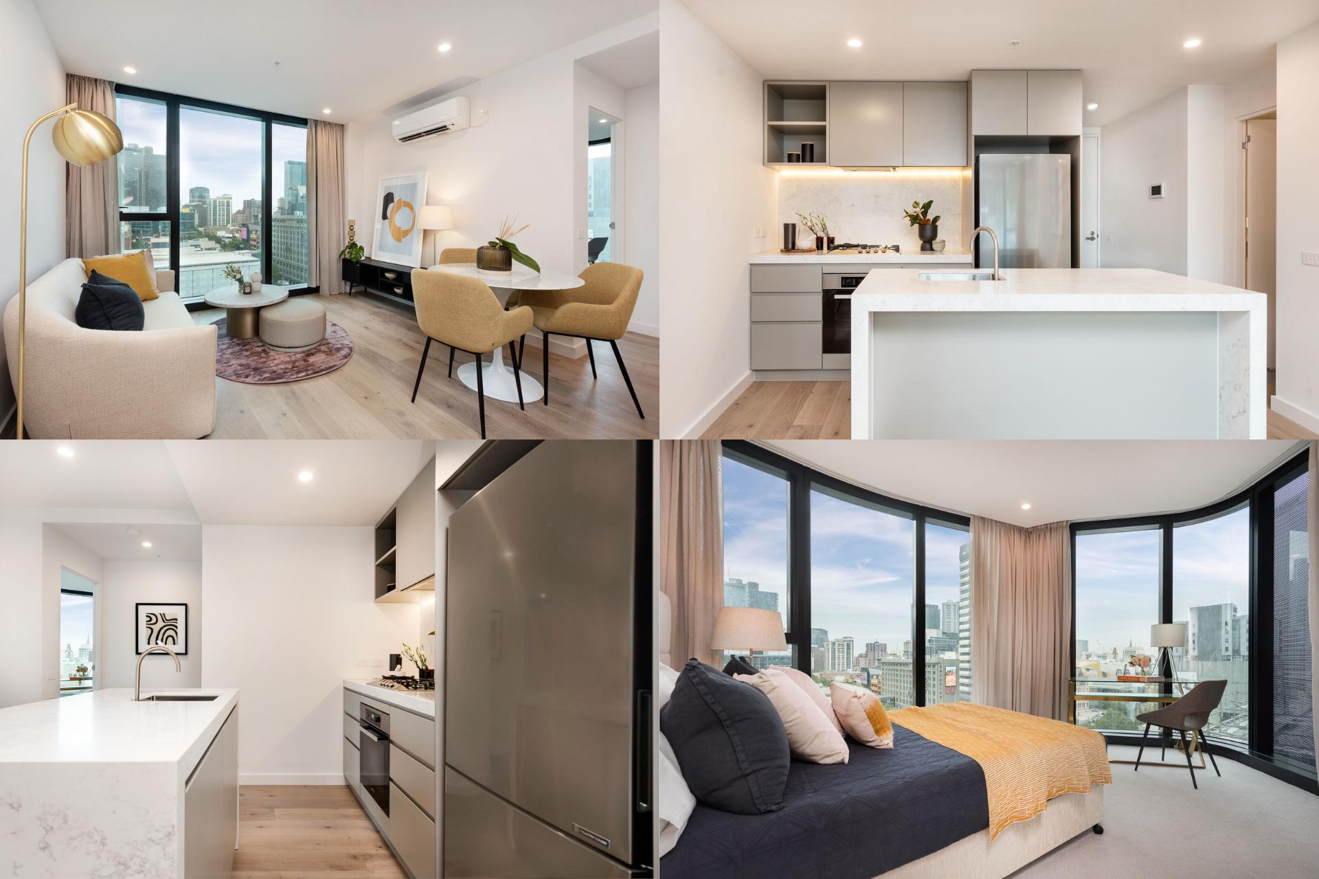 nterior Apartemen 380 Melbourne