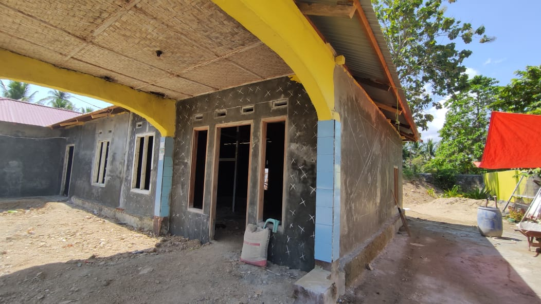 Ferosemen, dinding beton bertulang yang digunakan untuk rumah BSPS