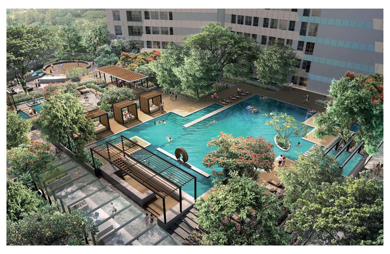 Southgate memiliki fasilitas sky pool